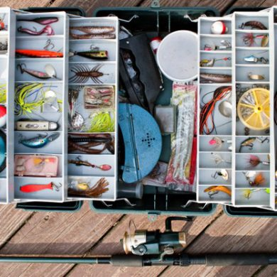 The ultimate walleye tacklebox