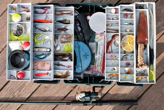 The ultimate walleye tacklebox