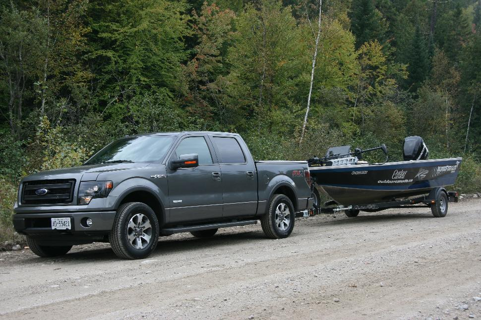 Sweet rides: The Ford F150 test truck and the Outdoor Canada KingFisher 1925 Flex SC
