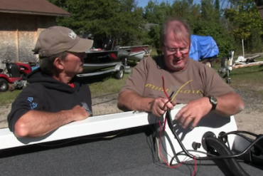 How to install a Vantage electric trolling motor