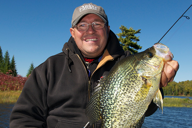 Ontario's Rainy Lake is home to plate-sized black crappie