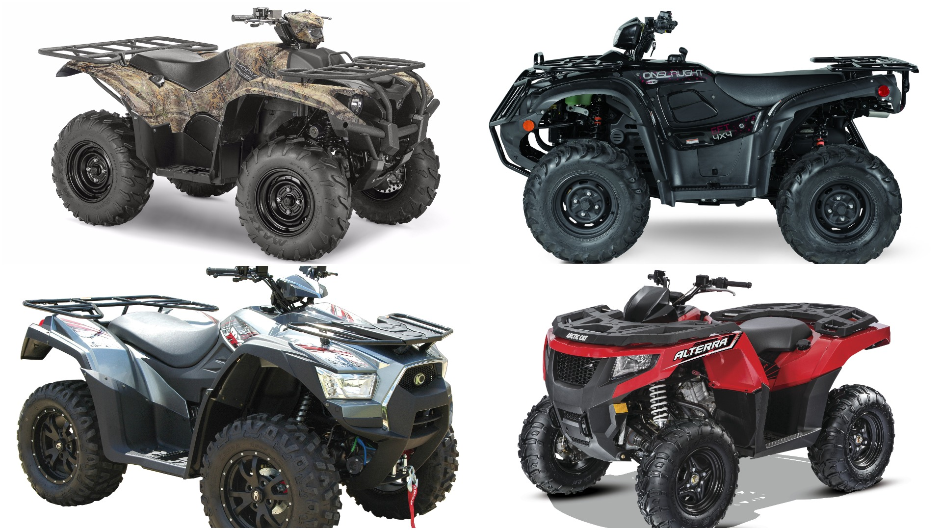 The year's best new ATVs, Part 1: Quads