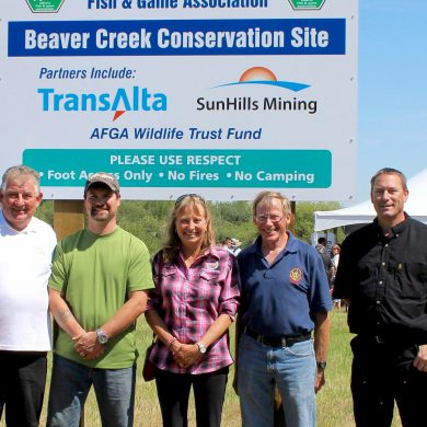 The AFGA acquires new properties to protect critical Alberta habitat