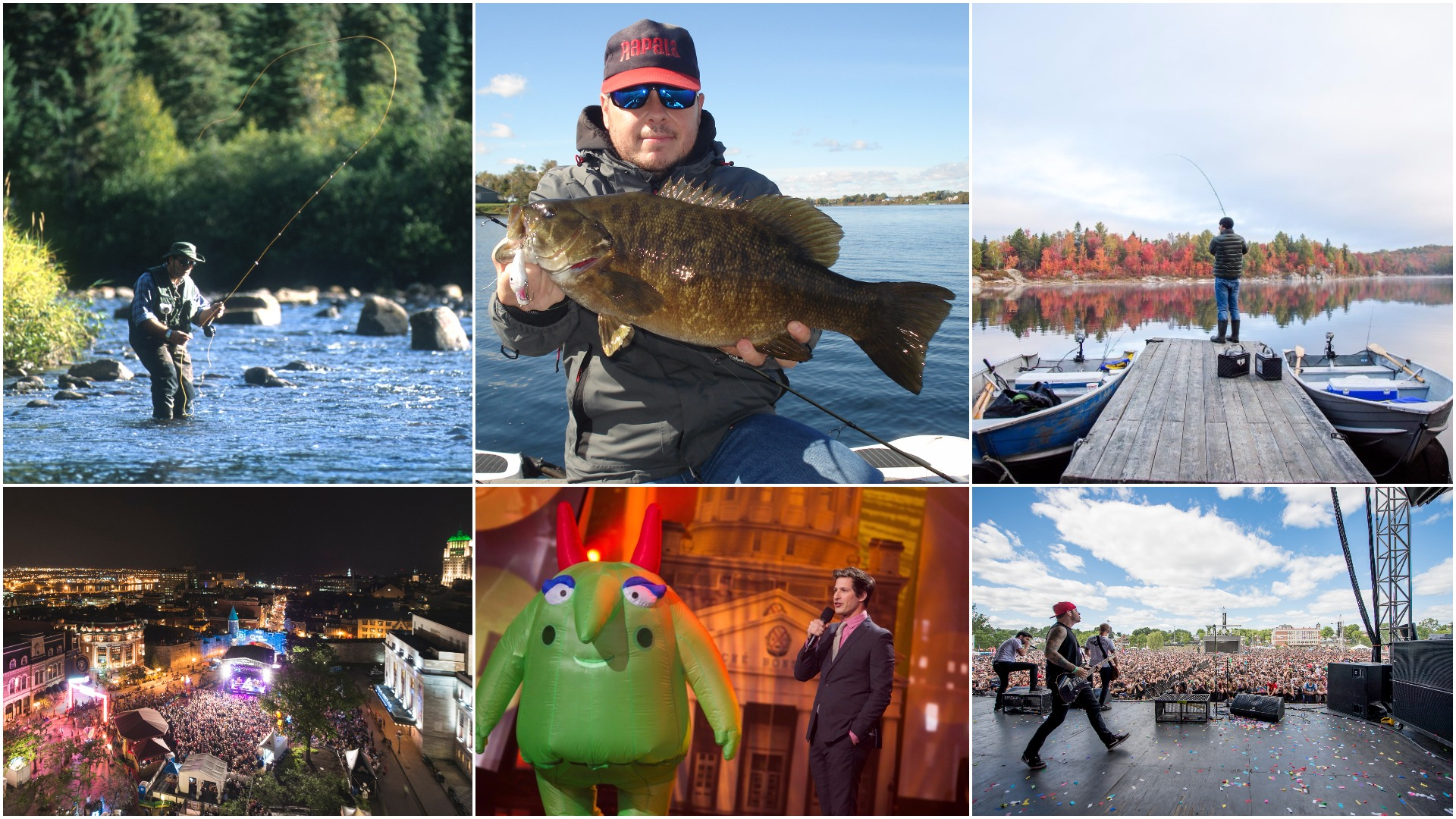 Quebec cool: 3 thunderous fishing-and-entertainment getaways