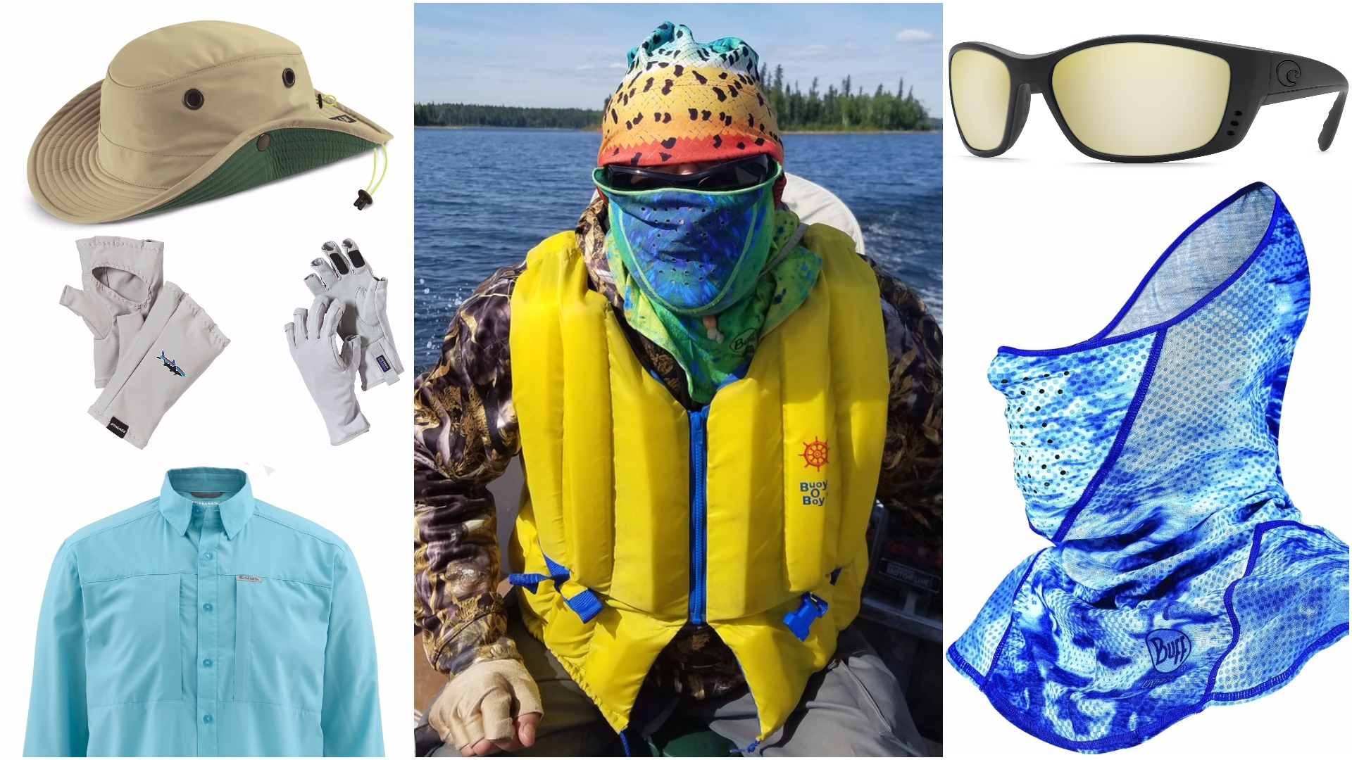 How anglers can stay safe in the searing summer sun