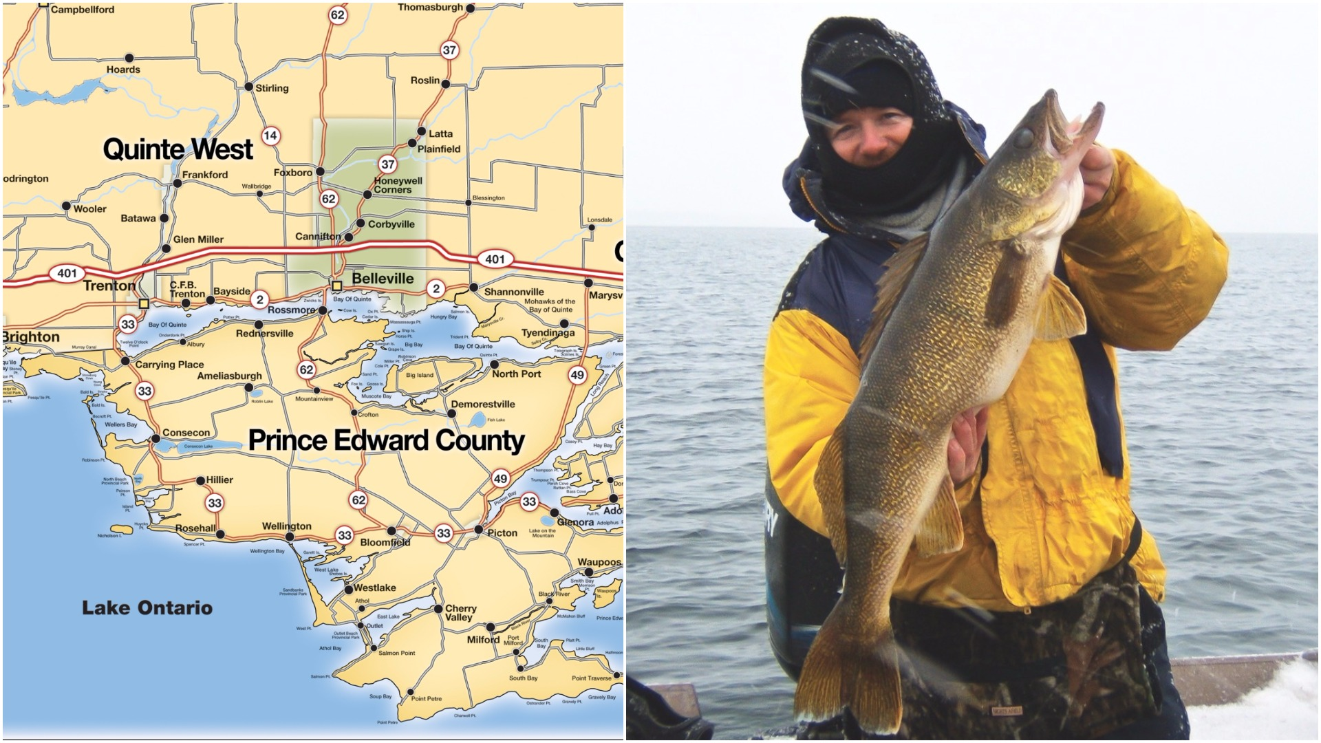 Why TV's Fish'n Canada braves sleet and snow on the Bay of Quinte