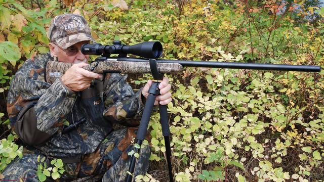 The author test shoots the X-Bolt Varmint stalker. Credit: Mark Hoffman.