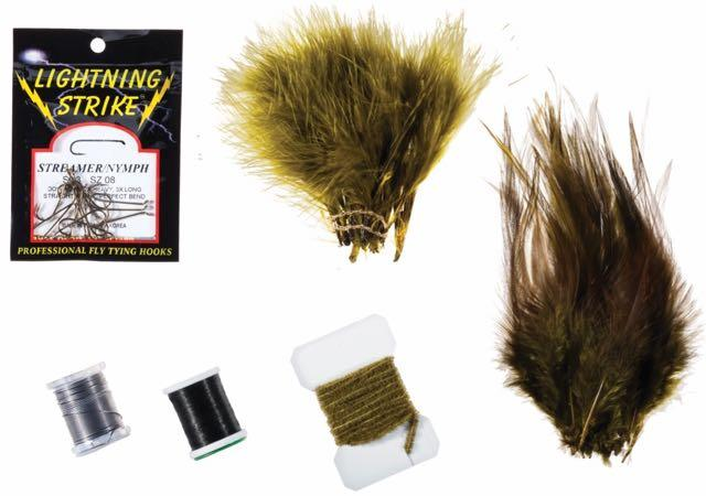 Woolly Bugger Fly Tying Kit