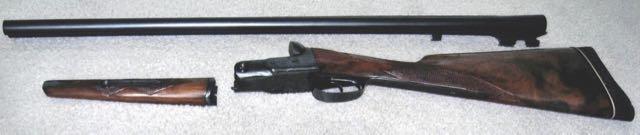 Parker side-by-side 12-gauge