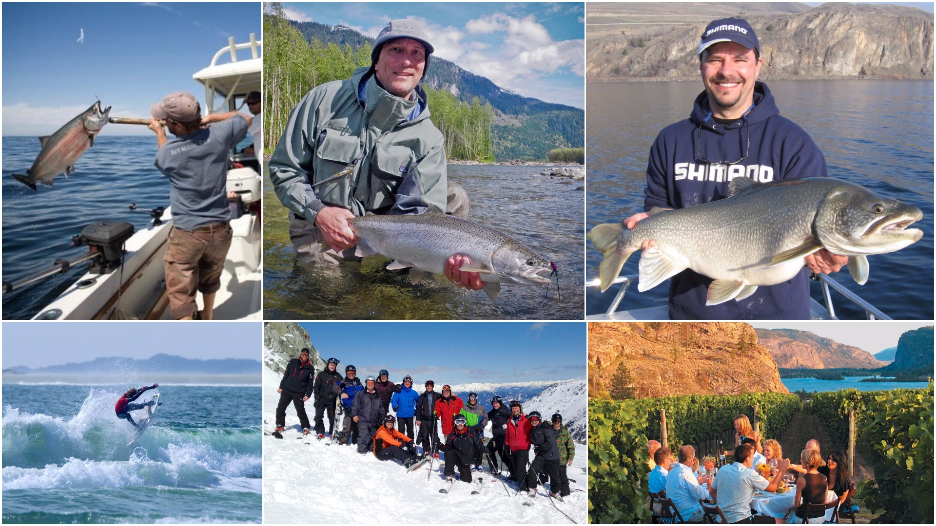 Check out British Columbia's 3 coolest fishing destinations