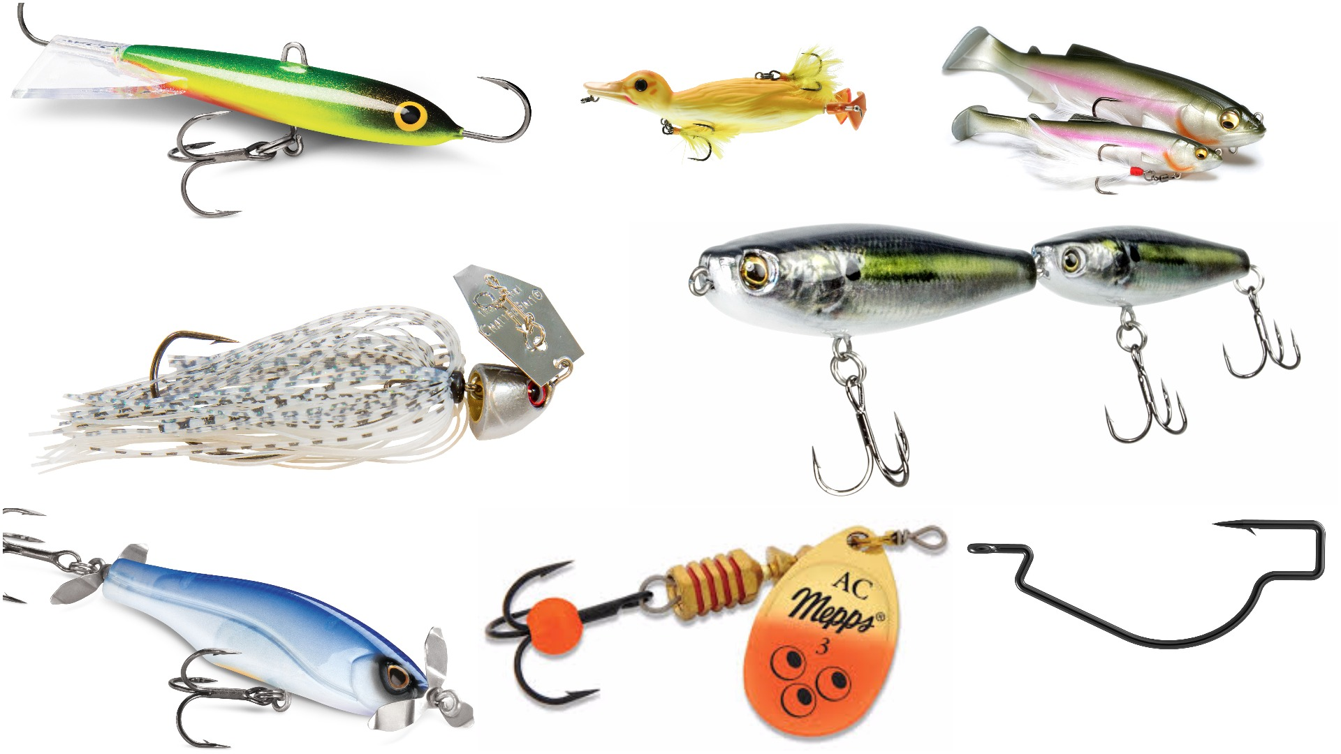Tackle Week 2017: 10 must-have new lures for Canadian anglers