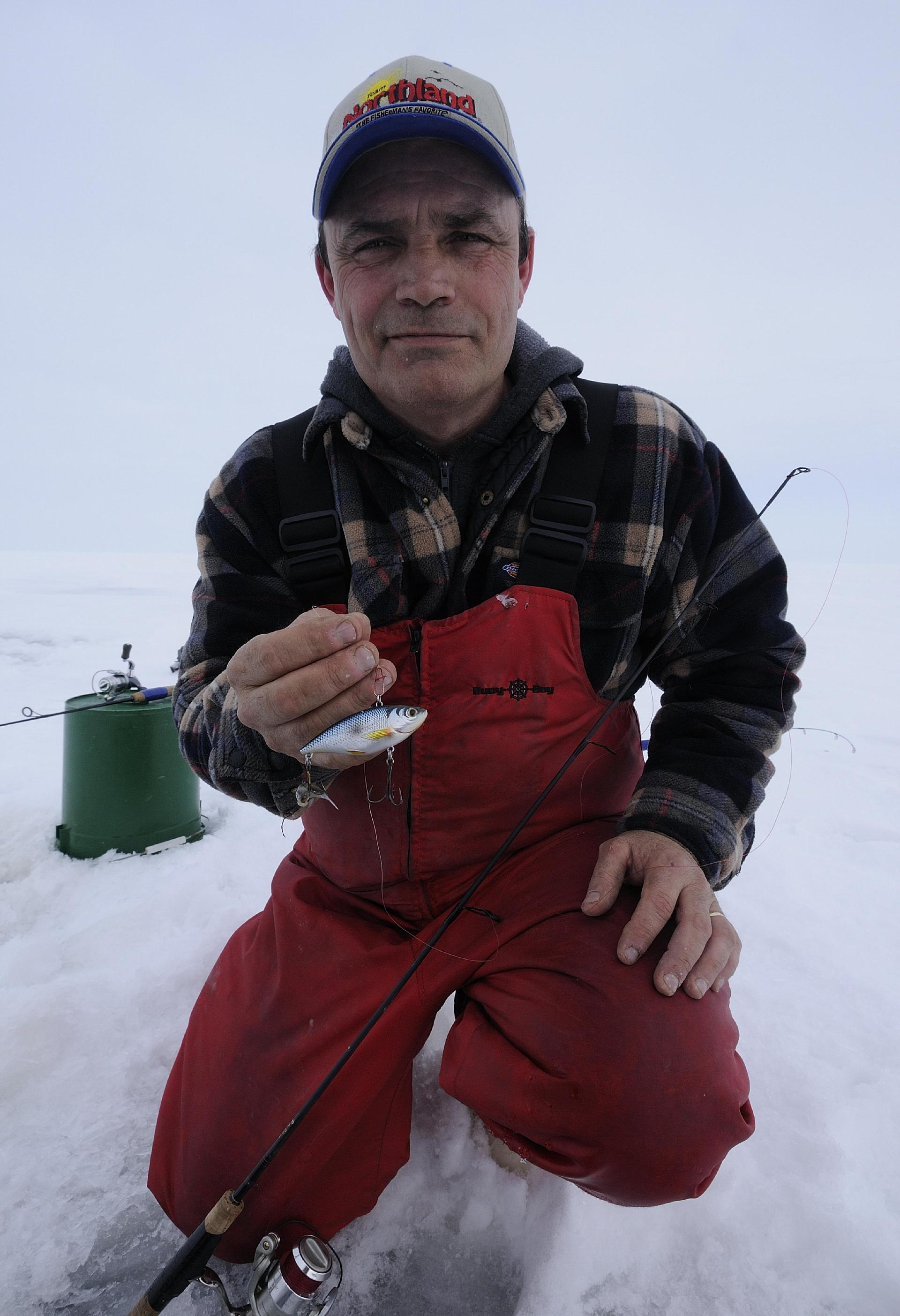 Roger Stearns was a pioneer on Lake Winnipeg, introducing the ice fishing world to the technique of using lipless crankbaits to catch giant walleyes