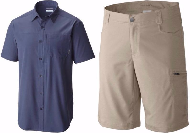 Global Adventure IV Shirt &Silver Ridge Stretch Short