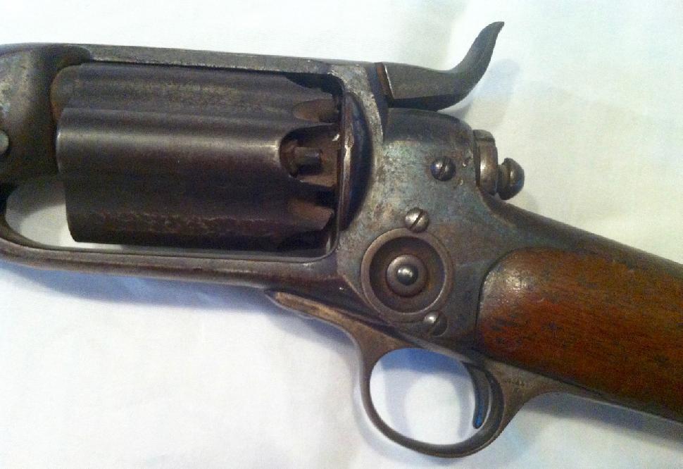 Colt 1855 revolving rifle