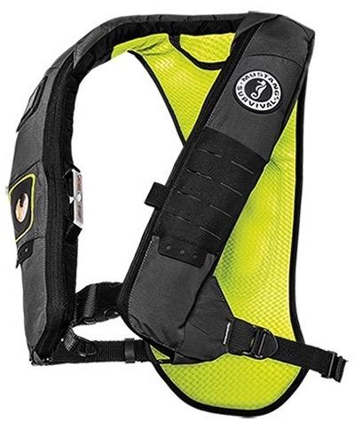 Mustang Survival's Elite 28K hydrostatic inflatable PFD