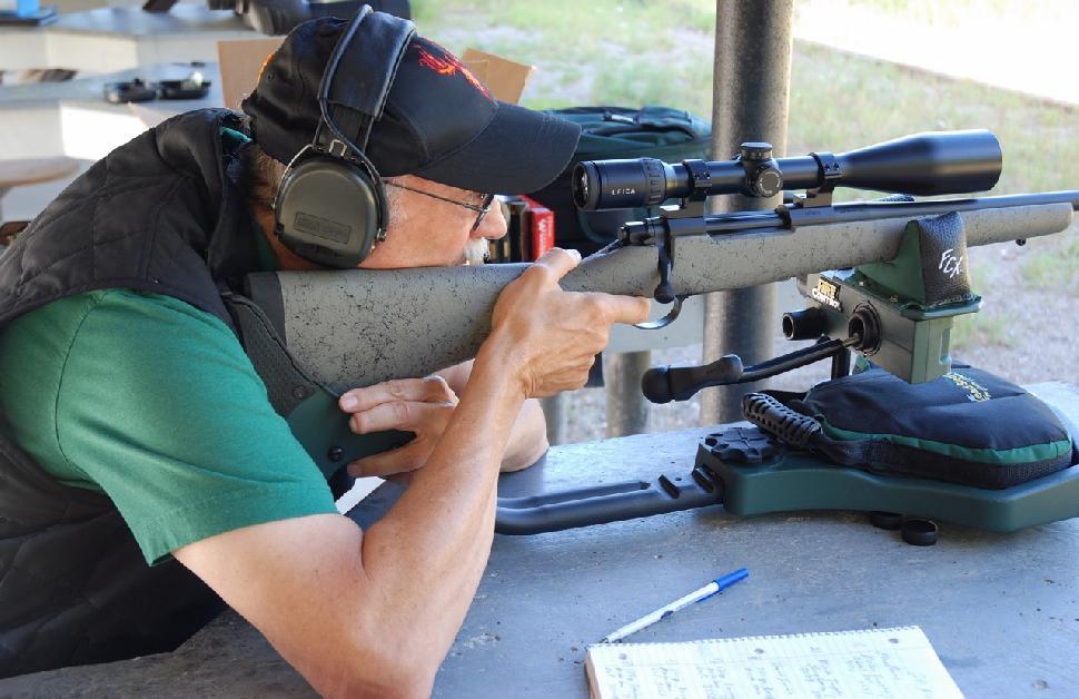 The rifle shot tight groups at 100 yards. Credit: Mark Hoffman.