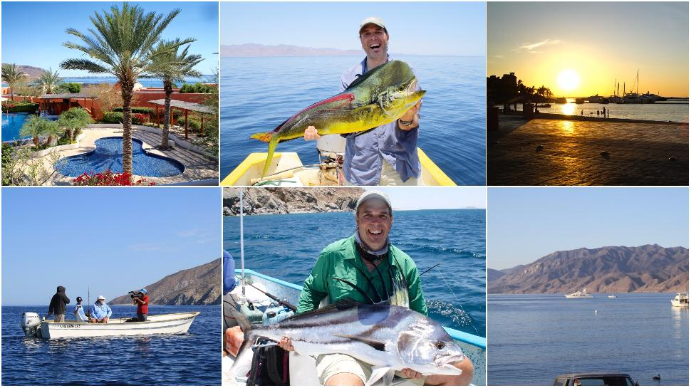 Trophy fishing in the Sea of Cortez