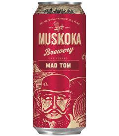 Muskoka Brewery's Mad Tom IPA