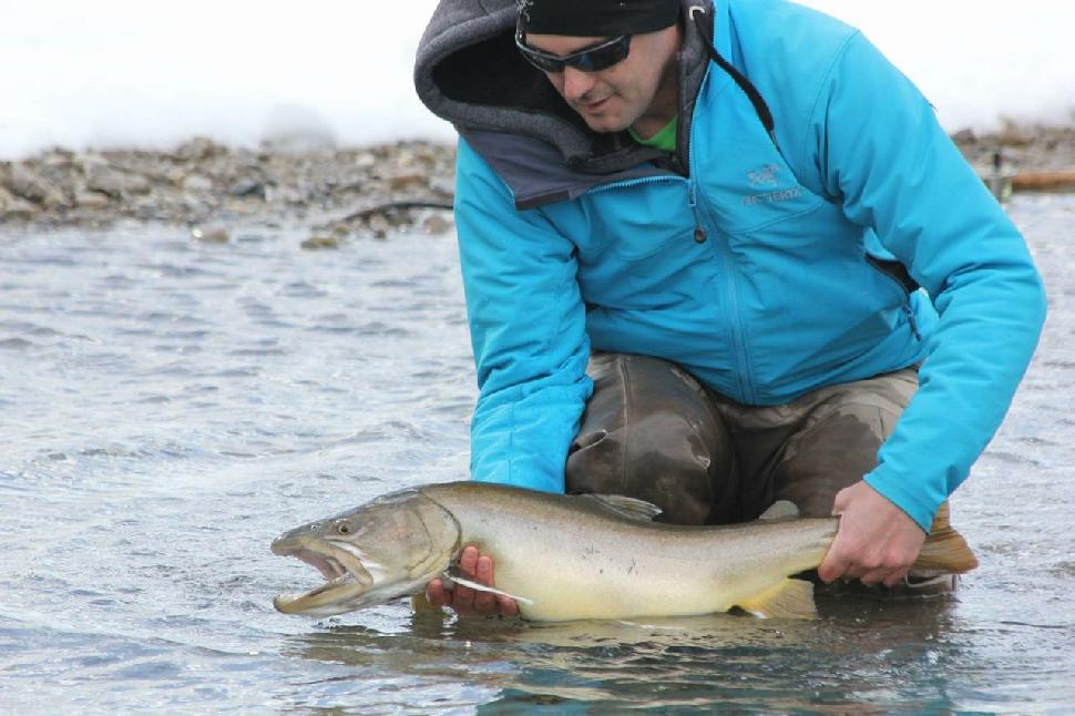 Credit: Dolan Glass. Proposed ban aims to help trout and grayling populations recover.