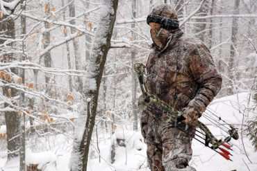 Bowhunting in the cold