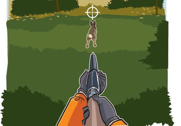 Rabbit-Aiming: Situation 1