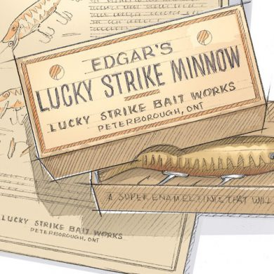 How to start a vintage lure collection
