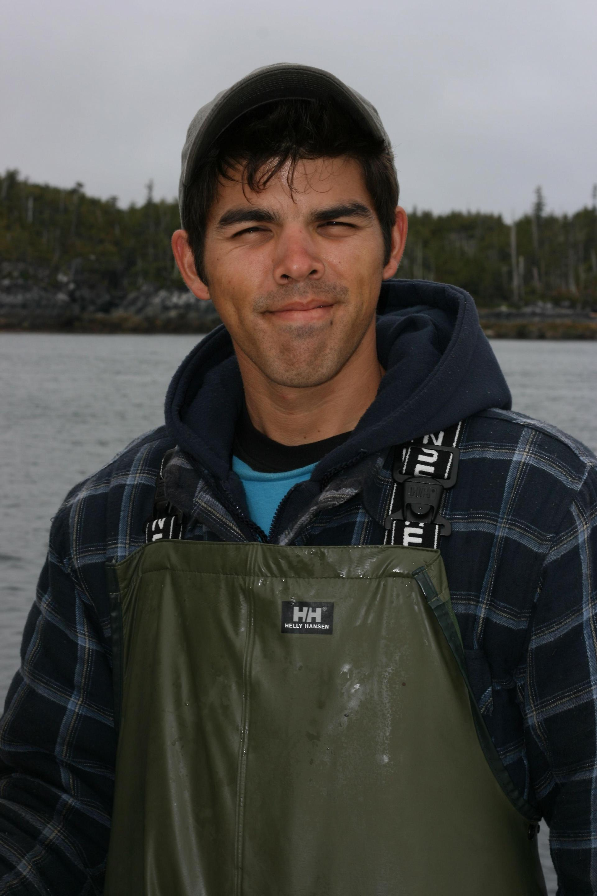 The man: Our guide, Ryan Dudoward