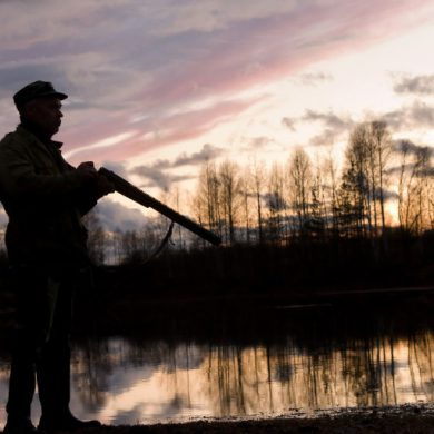 How to hunt and fish alone