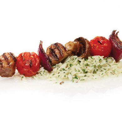 Grouse Kebabs
