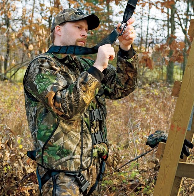 Treestand safety devices