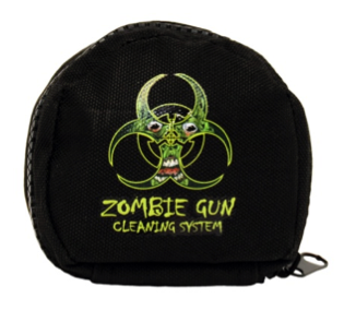 The Zombie Cleaning System soft case