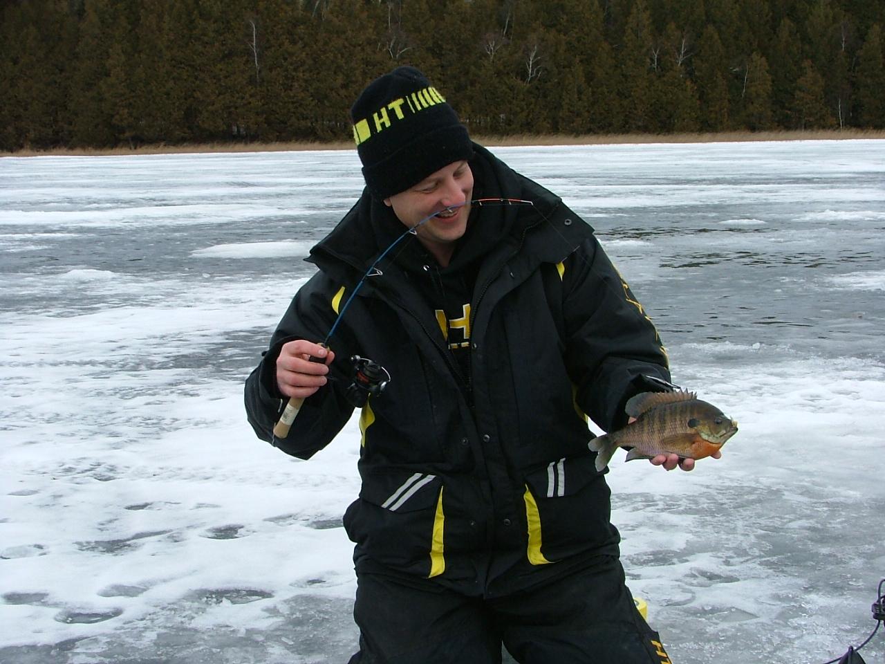 Tips for catching bluegills