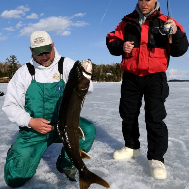 Ice fishing auger dos and don'ts