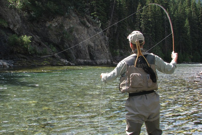 Easy 3-step fly casting
