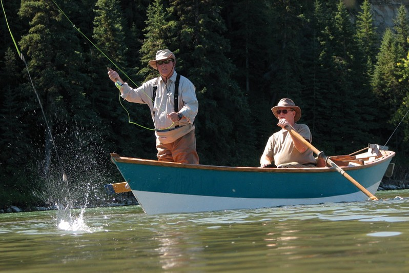 Tips for fly fishing from a boat