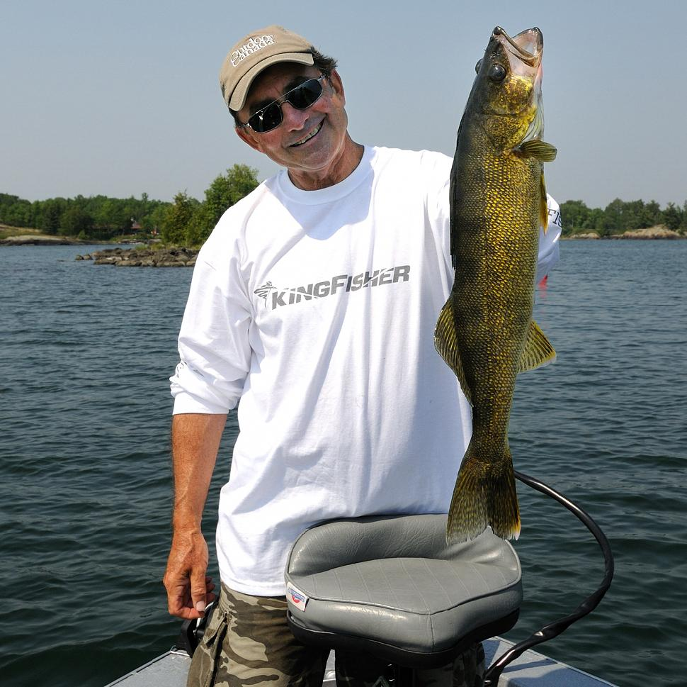 Scented soft plastic baits almost always produce more and bigger walleyes