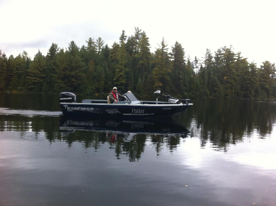 Outdoor Canada's KingFisher Flex SC on Quebec's La Réserve Beauchene
