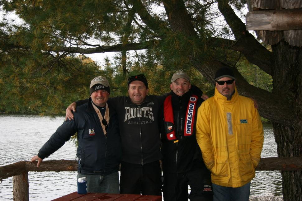 Beauchene Crew 2013: (left to right) Billy Shields, Pat Trudell, Patrick Walsh & Jon Baker