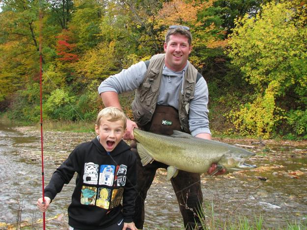 Thanksgiving salmon hunt