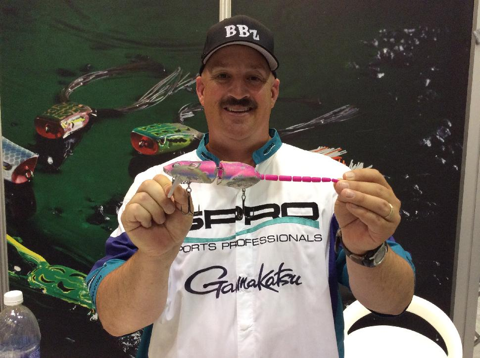 Bill Siemantel with one of the new Spro Rat baits