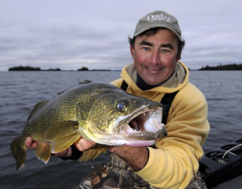 You can determine everything you need to know about a walleye by looking into its eyes
