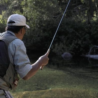 Why you should try tenkara-style no-reel fly fishing