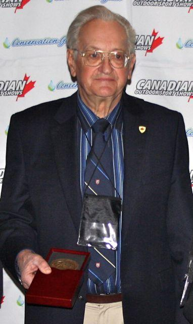 Dr. John Casselman, the newest inductee into the Canadian Angler Hall of Fame. Credit: Scott Gardner.