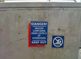 Public health advocates believe more waterbodies should post warnings about DHMO levels.