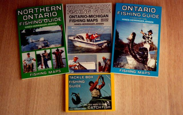 The first Ontario Fishing Guide book waspublished in 1979. The last edition came out in 2005. Credit: Ray Hines.