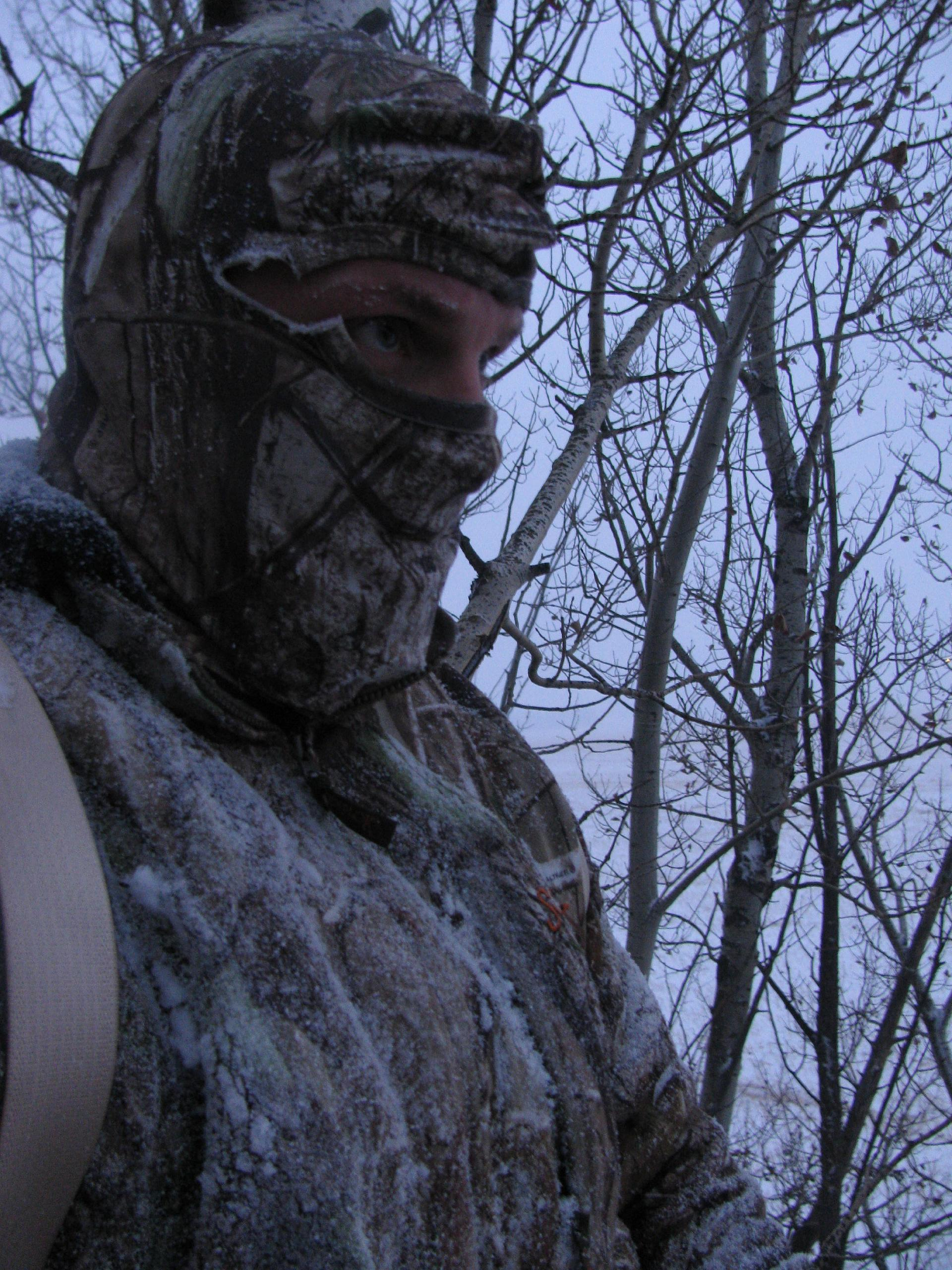 Cold Bowhunter