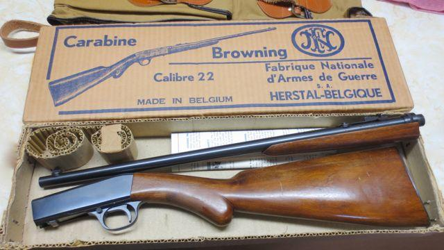 Browning .22 rifle