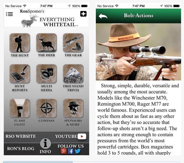Everything Whitetail App