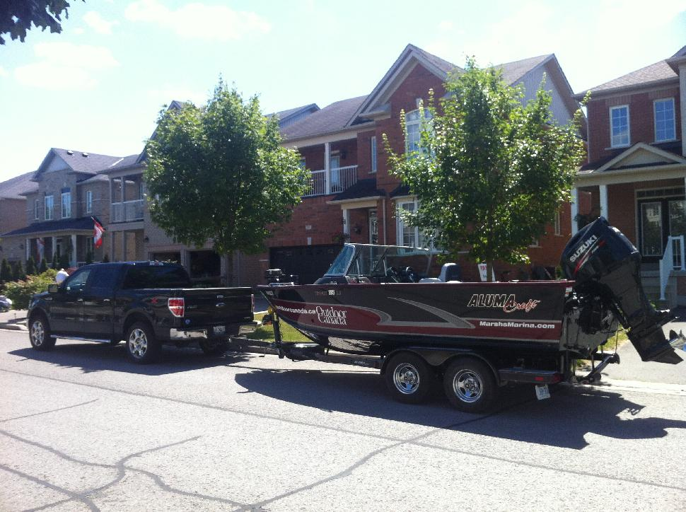 The Trophy 195 trailers well, and so far it's travelled to Muskoka, HaliburtonandLake Simcoe, with plenty more fishing adventures to come this season.