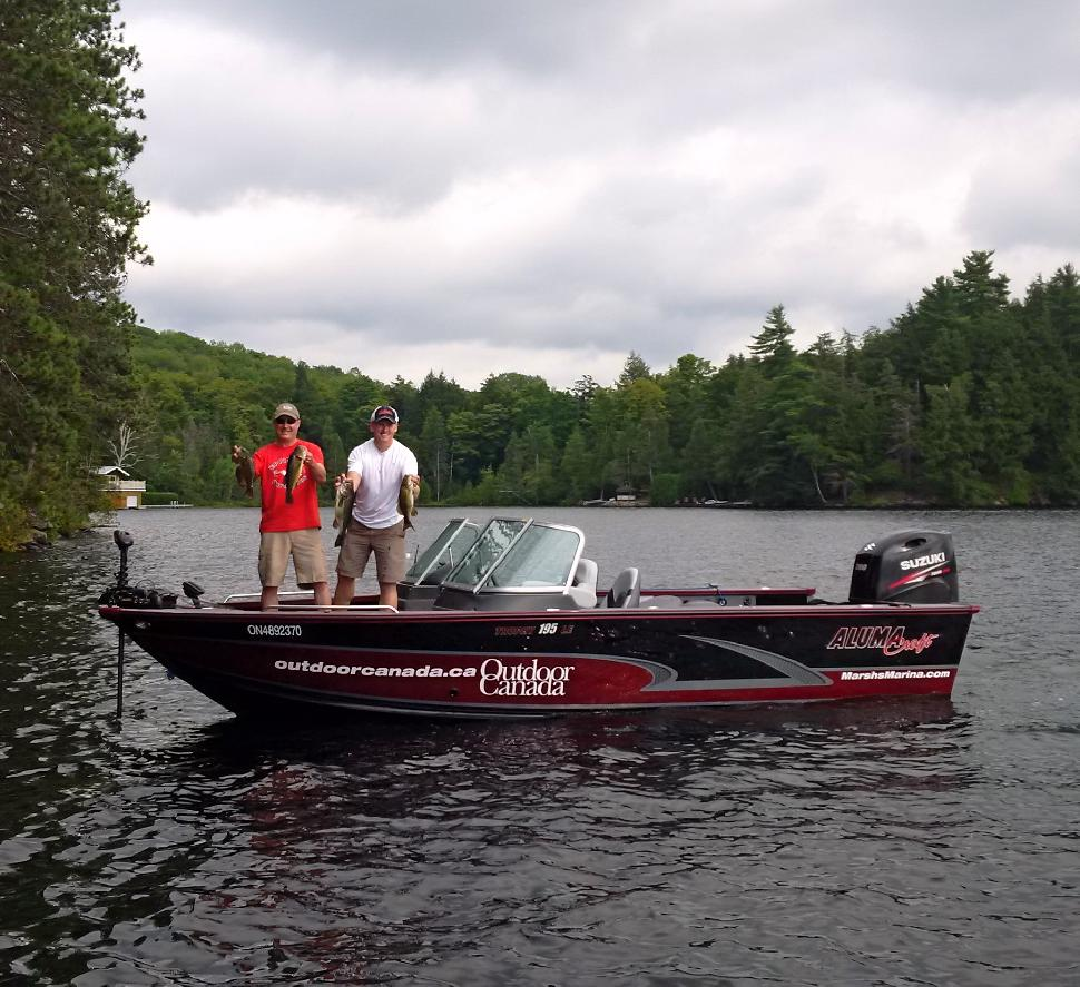 Fishing with Rob Pye